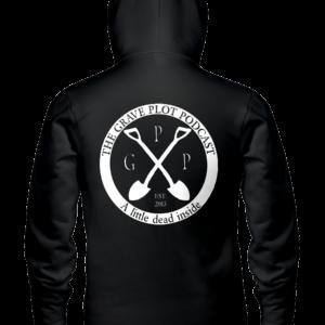 Alternate logo hoodie (back)