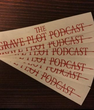 Grave Plot Podcast vinyl decals