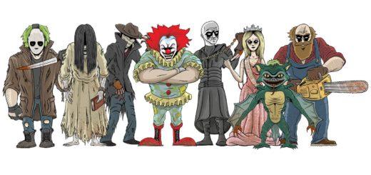 Mixtape Massacre characters
