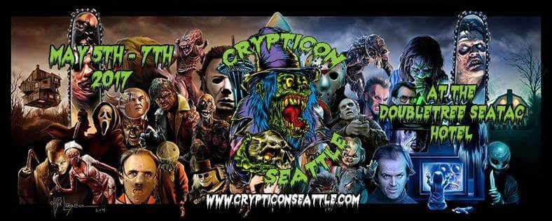 Crypticon Seattle 2017