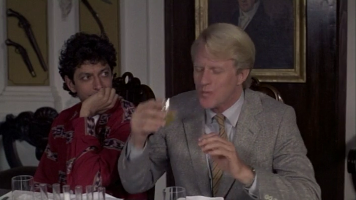 Jeff Goldblum and Ed Begley Jr. in Transylvania 6-5000